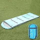Sleeping bag LVZAIXI Jungen und Mädchen Challenger 350 Junior Camping Schlafsack (Farbe : Blau)