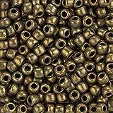 Toho Perlen 3/0Japanische Rocailles Bronze Antik Gold 19,5g