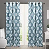 Exclusive Home Curtains Medallion Thermal Blackout Grommet Top - Best Reviews Guide