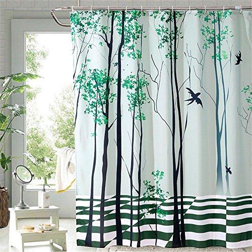 JYJSYM Polyester duschvorhang Wasserdicht und Anti - schimmel Vorhang Verdickung Bad duschvorhang Dusche Vorhang Dusche Vorhang 180cmx200cm,c,180x200cm