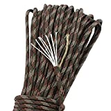 Ganzoo Paracord 550 Seil, Feuer-Starter Cord, Fire-Paracord, Outdoor Survival firecord