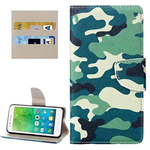 Proteja su teléfono, Für Lenovo Vibe C2 / C2 Power Kleine Bär Muster Horizontale Flip Leder Tasche mit Halter & Card Slots & Wallet ( SKU : Mlc8503f ) (Power Bären Htc One)