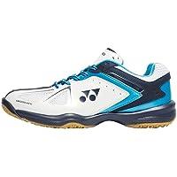 Yonex SHB 34 EX Power Cushion Mens Badminton Court Squash Shoes, mehrfarbig - Weiß/Blau