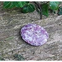Reiki Healing Energy Charged Crystal Lepidolith Cabachone Palmenstein (2 x 3 cm) preisvergleich bei billige-tabletten.eu