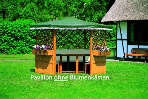 Pavillon Kompakte, massive Bauweise