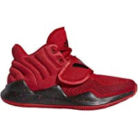 adidas Deep Threat J, Scarpe da Basket Unisex-Bambini