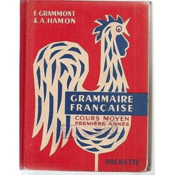 Grammaire française. cours moyen 1ère année.