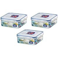 Lock & Lock HPL823O3 Fresh storage box, 3x870