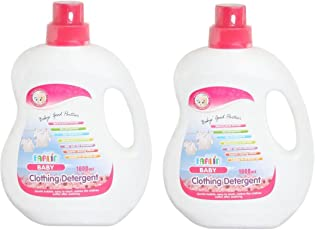 Farlin Anti-Bacterial Baby Liquid Laundry Detergent 1000ml - 2 Pcs Combo