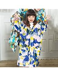 Mode Camouflage Enfants Imperméables Étudiants du primaire Étudiants en béton / poncho (multicolores en option)