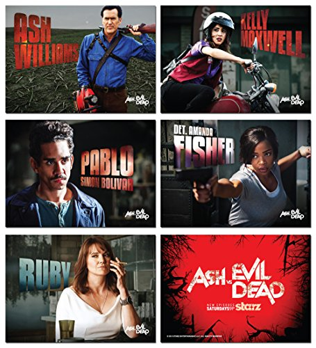 2015-promo-ash-vs-evil-dead-tv-show-5-card-set-bruce-campbell-army-of-darkness