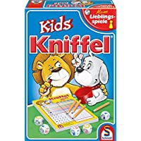 Schmidt-Spiele-40535-Kniffel-Kids Schmidt Spiele 40535 Kniffel Kids, Kinderspiel, bunt -