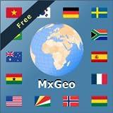 Atlante mondiale e mappa del mondo MxGeo Free