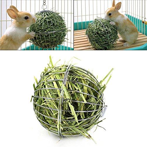 Sue Supply Dispensador de alimentos para mascotas, 8 cm, diseño de cobaya, hámster y conejo
