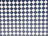 Melody Jane Puppenhaus marineblau und weiß Fliesen Effekt Papier Miniatur 1:12 Bodenbelag Diagonal