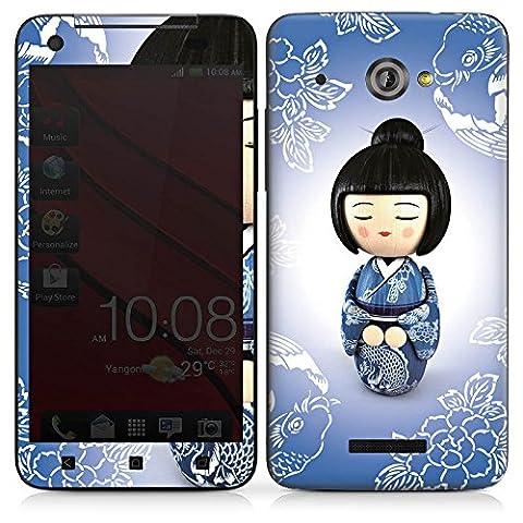 HTC Butterfly Autocollant Protection Film Design Sticker Skin Koi Kokeshi Poupée Asie
