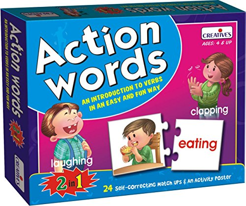 Creative Educational Aids 0642 Action Words