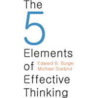The 5 Elements of Effective Thinking (English Edition)