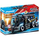Playmobil City Action 9360 SWAT Truck With Light and Sound Effects for Children Ages 5+
