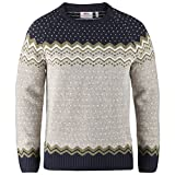 Fjällräven Herren Övik Knit Sweater Pullover, navy, M