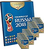 Panini WM Russia 2018 - Sticker - 1 Album + 20 Tüten -
