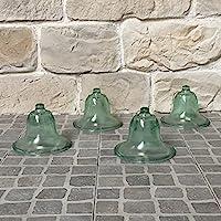 4estilo antigua campana de jardín vegetales de cristal Ø20cm