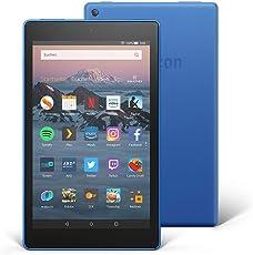 Das neue Fire HD 8-Tablet | Hands-free mit Alexa | 8-Zoll-HD-Display, 16 GB, Blau, mit Spezialangeboten