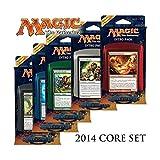 Jeux de Cartes 10 en 1 'MTG' - Intro Pack Magic 2014 (Espagnol) X10