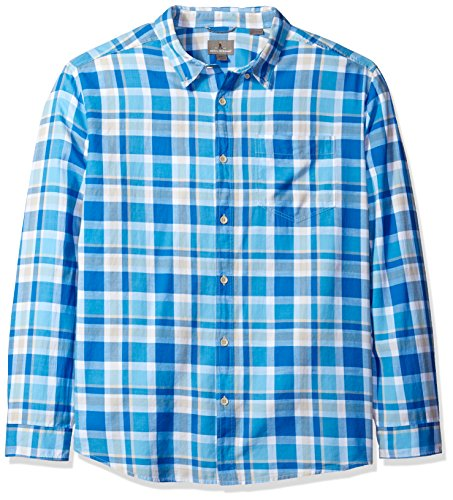 Royal Robbins Herren Painted Canyon Plaid Long Sleeve Shirt, Herren, Oceania, xxl (Plaid Canyon Shirt)