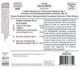 Joachim - Violin Concerto 3 & Overtures