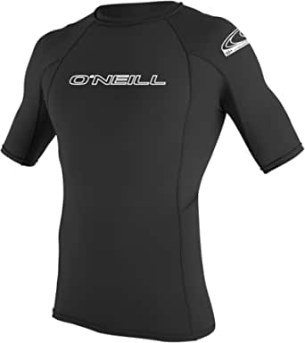 O'Neill Wetsuits Men's Basic Skins Short Sleeve Rash Guard Vest