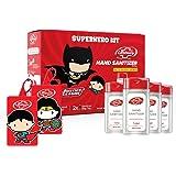 Lifebuoy Hand Sanitizer Super Hero Kit | Superman & Wonder Woman | Anti bacterial 70% Alcohol based Sanitizer | perfect for g