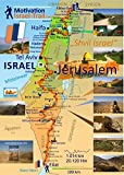 Israel Trail Poster DIN A2 (gefaltet)