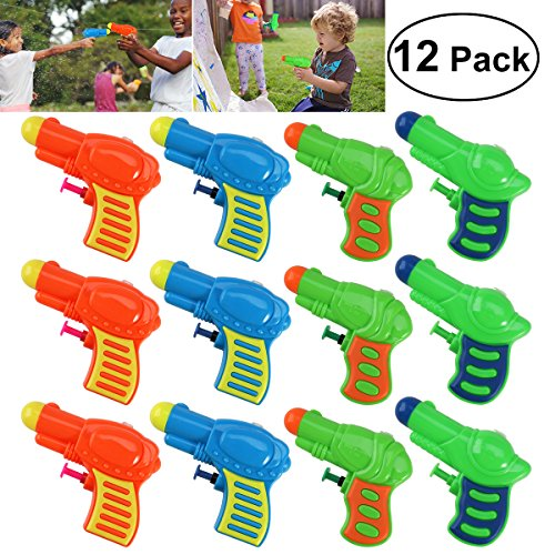 Set 12 pistolas de agua para niños TOYMYTOY