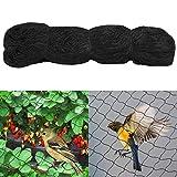 Yahee 15x15m Vogelschutznetz Teichnetz Katzennetz Netz zum Schutz vor Vögeln Maschenweite:60mm