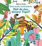 Mein buntes Gucklochbuch: Bist du das, kleiner Tiger?
