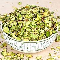 Aapkidukan Sliced Pistachios - 100 Grams - Pista Katli/Flakes of Pistachios for Garnish