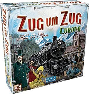 Asmodee - Days of Wonder 200098 - Zug um Zug Europa (B0007XQQSA) | Amazon price tracker / tracking, Amazon price history charts, Amazon price watches, Amazon price drop alerts