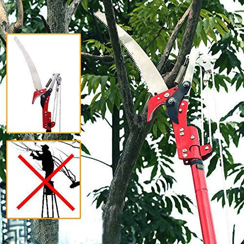 bluelover-high-branch-ratchet-action-saw-lopper-garden-thick-branch-carbon-steel-pruning-shear