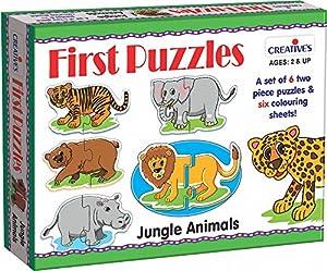 Creative Educational 0794Animales de la Selva Primer Puzzle
