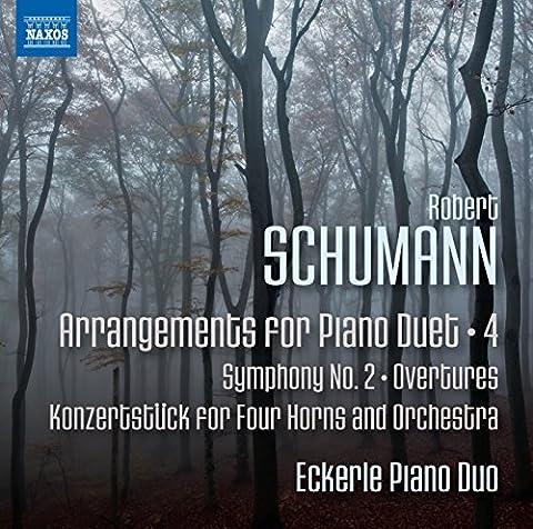 Robert Schumann: Arrangements for Piano Duet Vol. 4 [Eckerle Piano Duo] [Naxos: 8572880]