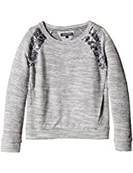 Tommy Hilfiger Alaura - Sweat-shirt - Uni - Col rond - Manches longues - Fille