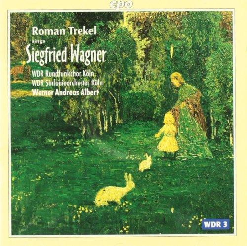 Roman Trekel Sings Siegfried Wagner [Import allemand]
