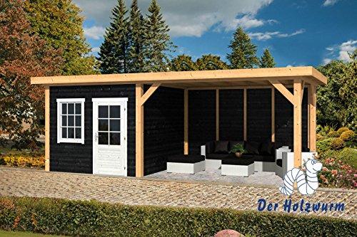 Gartenhaus Holten ca. 690x300 cm Selbstbaupaket