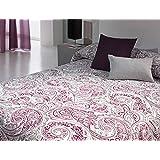 Colcha Asel morado cama de 150