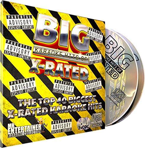 XRATED KARAOKE CD+G (CDG) Pack  Mr Entertainer Karaoke Big Hits  40  canciones explícitas