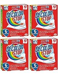 DECOLOR STOP Set de 12 Lingettes Anti-décoloration