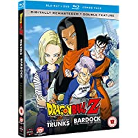 Dragon Ball Z The TV Specials Double Feature: The History of Trunks/Bardock the Father of Goku - DVD/Blu-ray Combo