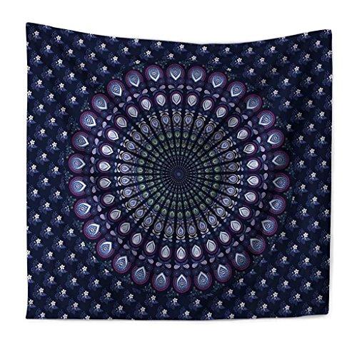 Wandbehänge Wandbehänge Indien Datura Blume Drucken Wandteppiche Wandbehang Strandtuch Sand , 004 , 200*150cm