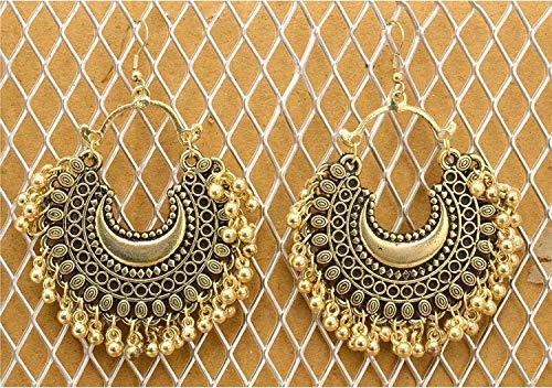 3afbec3dd 66% OFF on Tiaraz Fashion Stylish Oxidised Afghani Tribal Fancy Party Wear  Earrings for Girls and Women on Amazon | PaisaWapas.com